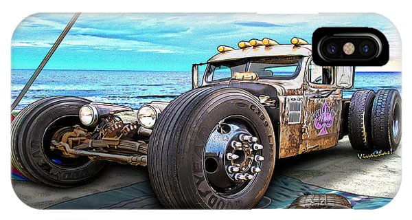Beach Blanket Rat Rod IPhone Case