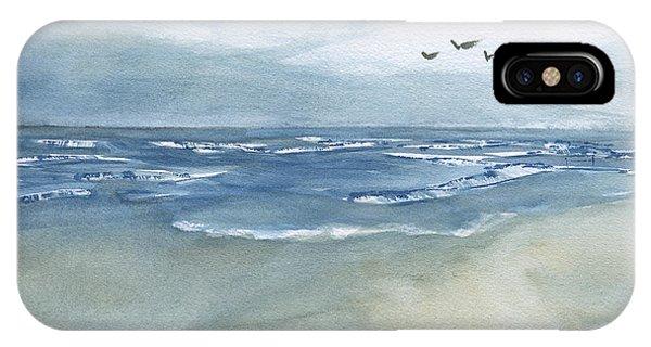Beach Blue IPhone Case