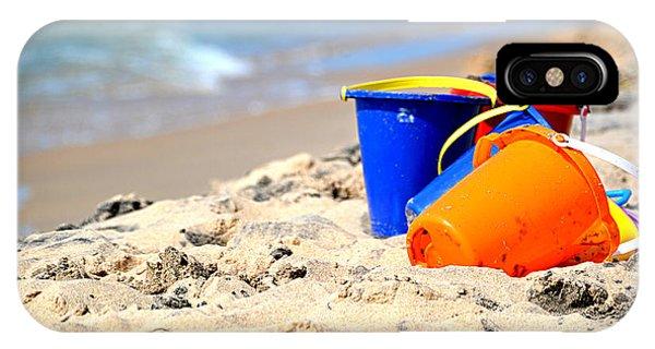 Beach Buckets IPhone Case