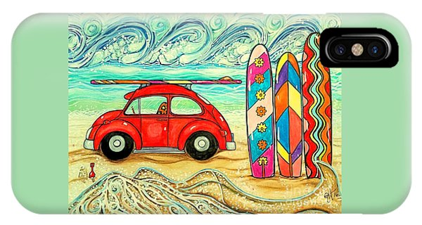 Beach Bug IPhone Case