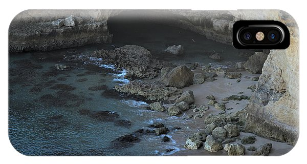 Beach Cave From The Cliffs In Malhada Do Baraco IPhone Case