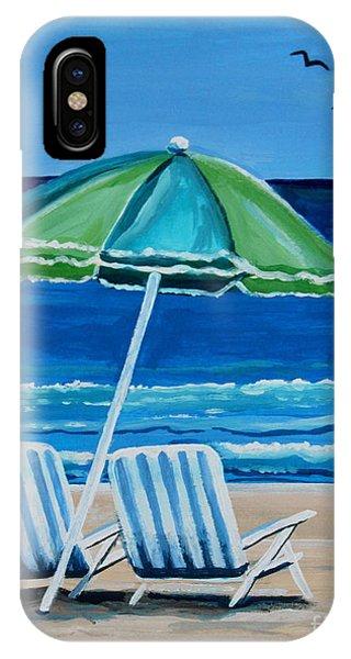 Beach Chair Bliss IPhone Case