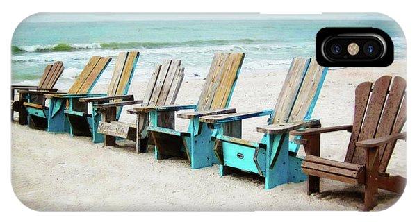 Beach Chairs IPhone Case