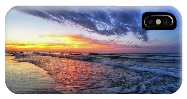 Beach Cove Sunrise IPhone Case