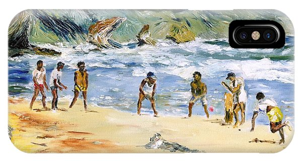 Beach Cricket IPhone Case