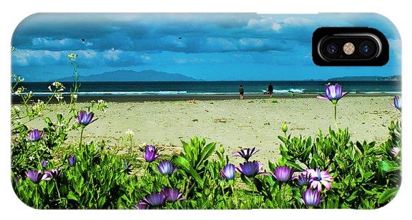 Beach Daisies IPhone Case
