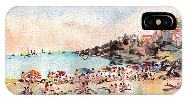 Beach Day At Puerto Vallarta IPhone Case