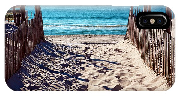 Beach Entry On Long Beach Island IPhone Case