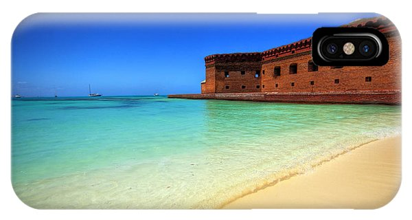 Beach Fort. IPhone Case