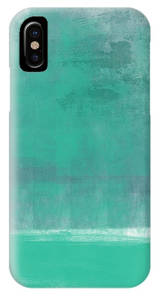 Contemporary iPhone Case - Beach Glass- Abstract Art by Linda Woods