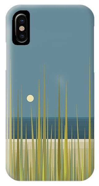 Beach Grass And Blue Sky IPhone Case