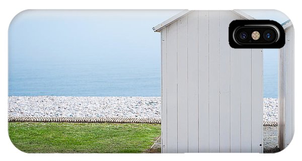 Beach Hut By The Sea IPhone Case