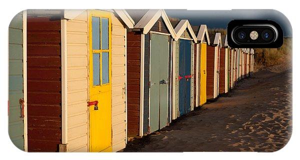 Beach Huts II IPhone Case