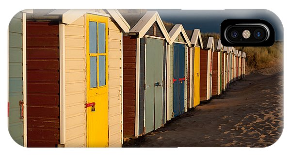 Beach Huts II IPhone Case
