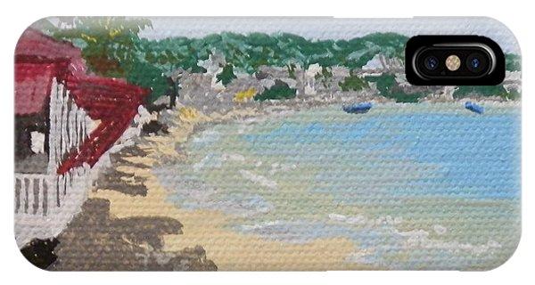 Beach In Grand Case IPhone Case