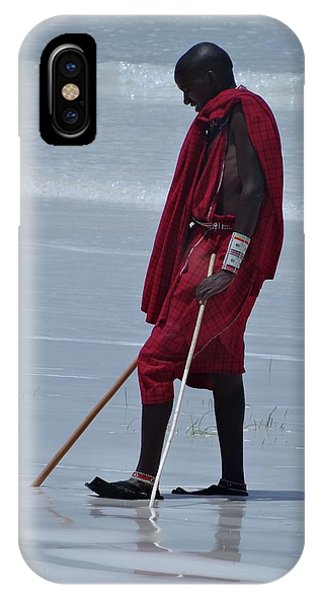 Exploramum iPhone Case - Beach Maasai by Exploramum Exploramum