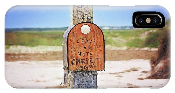 Beach Mail IPhone Case