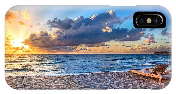 Boynton iPhone Case - Beach Morning by Debra and Dave Vanderlaan