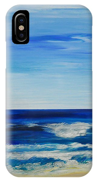Beach Ocean Sky IPhone Case