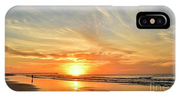 Beach Of Gold IPhone Case