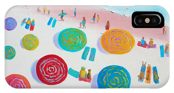 Beach Painting - A Walk In The Sun IPhone Case
