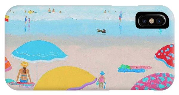 Beach Painting - Ah Summer Days IPhone Case