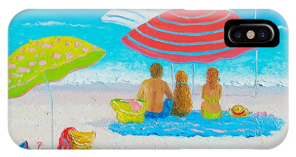 Beach Painting - Endless Summer Days IPhone Case