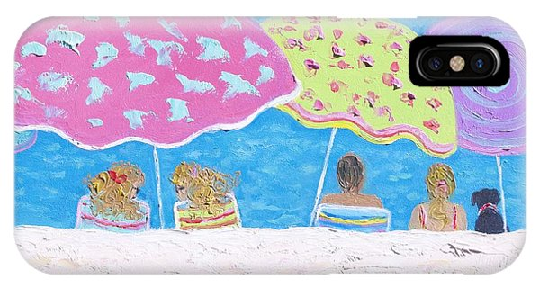 Beach Painting - Lazy Summer Days IPhone Case