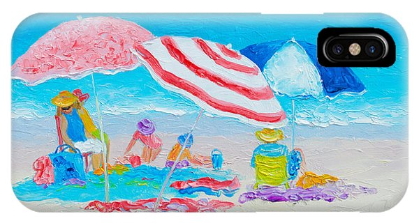 Beach Painting - Summer Beach Vacation IPhone Case