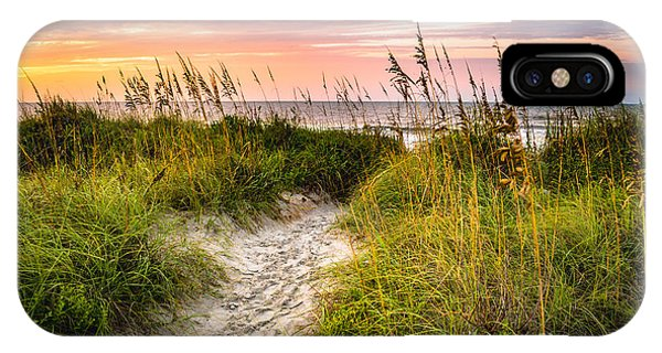 Beach Path Sunrise IPhone Case