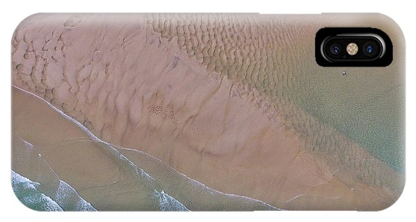 Beach Patterns At North Point On Moreton Island IPhone Case