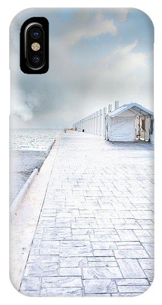 Beach Pier IPhone Case