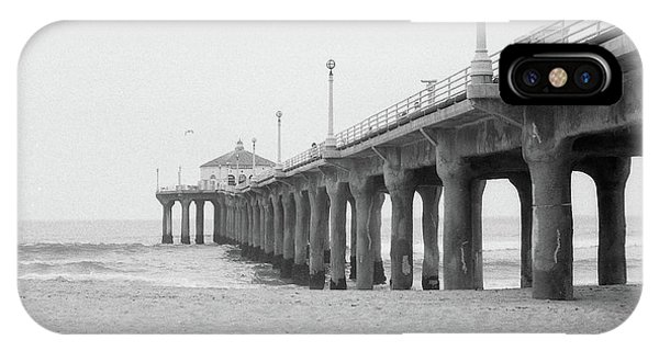 Beach Pier Film Frame IPhone Case