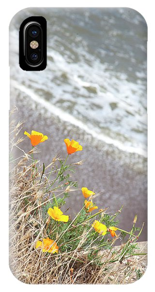 Beach Poppies IPhone Case