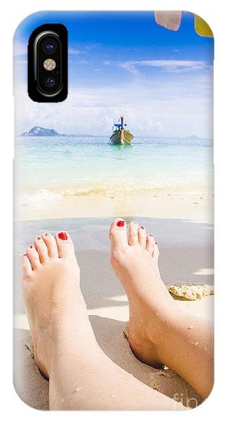Sunbather iPhone Case - Beach by Jorgo Photography - Wall Art Gallery