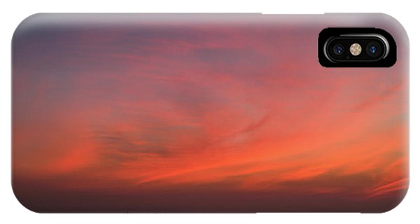 Beach Sky Blaze IPhone Case