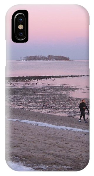 Beach Stroll IPhone Case
