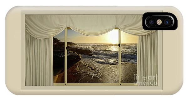 Beach Sunrise From Your Home Or Office By Kaye Menner IPhone Case