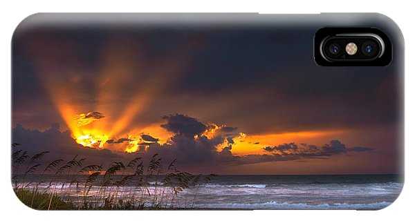 Beach Sunrise IPhone Case