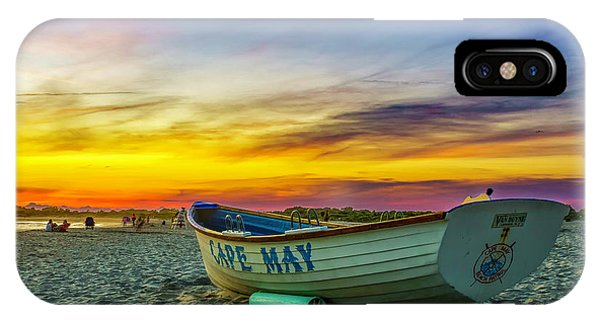 Beach Sunset In Cape May IPhone Case
