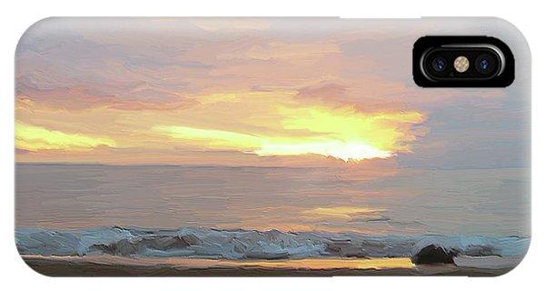 Beach Sunset IPhone Case