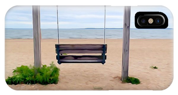 Beach Swing IPhone Case