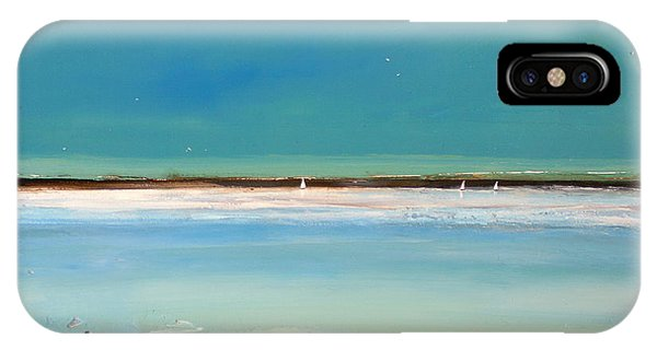 Sea iPhone X Case - Beach Textures by Toni Grote