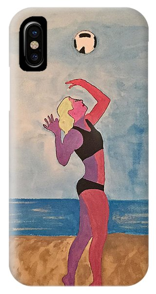 Beach Volleyball IPhone Case