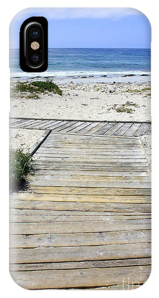 Beach Walk IPhone Case