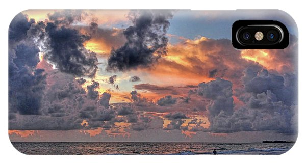Beach Walk - Florida Seascape IPhone Case
