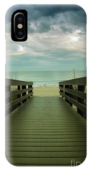 Bridge To Beach IPhone Case