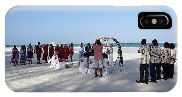 Exploramum iPhone Case - Beach Wedding In Kenya by Exploramum Exploramum