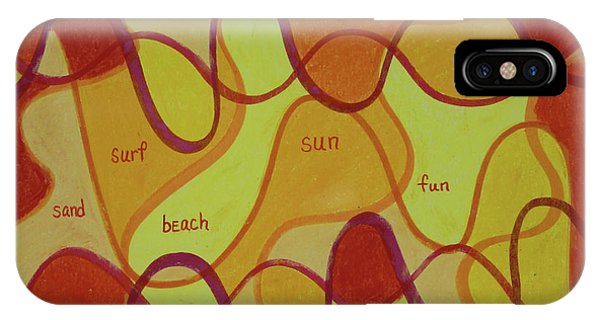 Beachday Two IPhone Case
