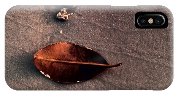Beached Leaf IPhone Case